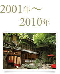 2001年〜2010年